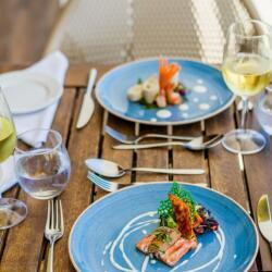 Golden Bay Beach Hotel Business Lunch